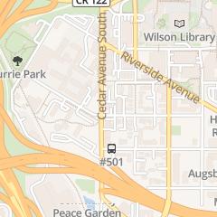 Directions for Mediteranean Deli and Coffee in Minneapolis, MN 523 Cedar Ave S