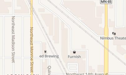 Directions for Las Vegas Tonight in Minneapolis, MN 1500 Jackson St NE Ste 185