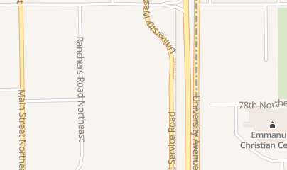 Directions for Hilltop Camper and RV in Fridley, MN 7810 University Avenue Northeast