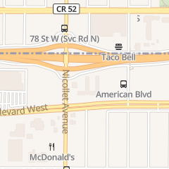 Directions for Culver's in Minneapolis, MN 7801 Nicollet Ave S