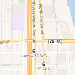 Directions for Redking Foods in Minneapolis, MN 3200 Washington Ave n