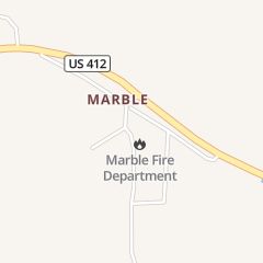 Directions for Marble Fire Department Business Only in Huntsville, AR 9752 Madison 2405