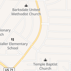 Directions for Bossier City Nursery and Twin Lakes Summer Camp in Bossier City, LA 1329 Airline Dr