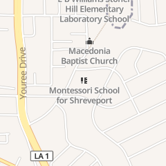 Directions for Montessori School for Shreveport in Shreveport, LA 2605 C E Galloway Blvd