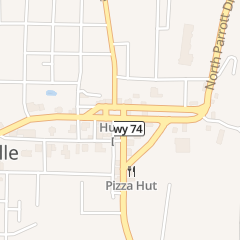 Directions for That Little Pizza Place in Huntsville, AR 204 S Harris St