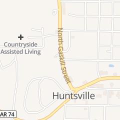 Directions for SUBWAY-HUNTSVILLE in Huntsville, AR 311 N Gaskill St