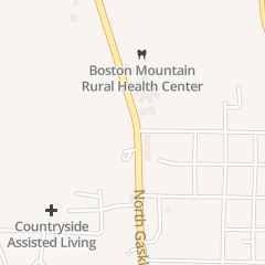 Directions for Meadowview Healthcare & Rehab in Huntsville, AR 825 N Gaskill St