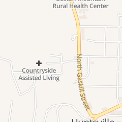 Directions for Madison County Medical Clinic in Huntsville, AR 705 Phillips Pl
