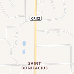 Directions for DAWSON BLACKTOPPING INC in SAINT BONIFACIUS, MN 3838 MAIN ST