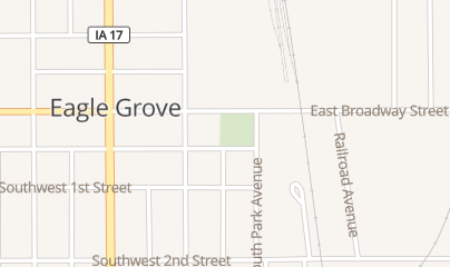 Directions for Smoke Shop in Eagle Grove, IA 110 W Broadway St