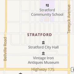 Directions for Rungo's Bar in Stratford, IA 823 Shakespeare Ave