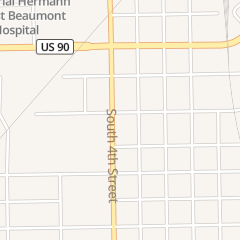 Directions for Holley Transmissions in Beaumont, TX 1125 S 4th St