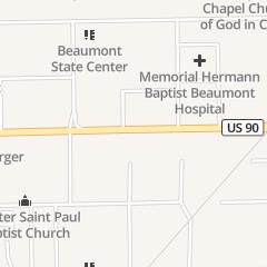 Directions for Diaz-Saldana Albert MD in Beaumont, TX 3129 College St Ste 101