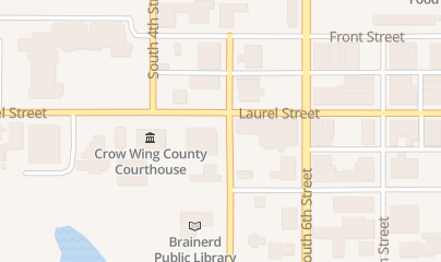 Directions for Sexual Assault Services in Brainerd, MN 324 S 5th St Ste L