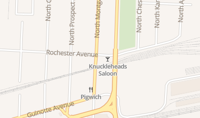 Directions for Knuckleheads Saloon in Kansas City, MO 2719 Rochester St