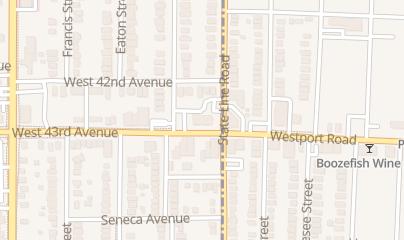 Directions for Commerce Bank in Kansas City, KS 1906 W 43rd Ave