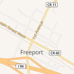 Directions for Commercial Exchange Corp. in Freeport, MN 116 1st Ave N