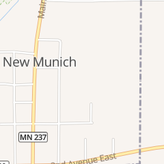 Directions for Shady's in New Munich, MN Po Box 124
