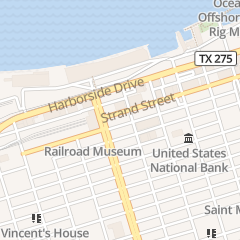 Directions for Patricks Bar in Galveston, TX 2411 Strand St