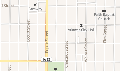 Directions for HOWARD'S CLOTHING in ATLANTIC, ia 415 CHESTNUT ST