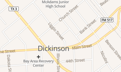 Directions for Pro Cleaning Contractors Dickinson in Dickinson, TX 4149-4101 Liggio Street