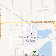 Directions for Texas Chiropractic College in Pasadena, TX 5912 Spencer Hwy