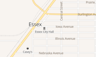 Directions for Essex Public Library in Essex, IA 508 Iowa Ave