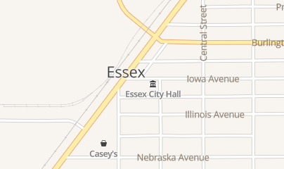 Directions for Essex Fire & Rescue in Essex, IA 410 Iowa Ave