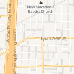 Directions for Lyons Supermarket in Houston, TX 3317 Lyons Ave