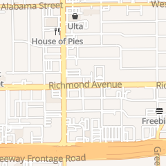 Directions for Perfect Vision Eye Care in Houston, TX 2518 Richmond Ave