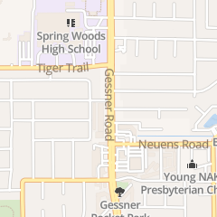 Directions for Le New Nail in Houston, TX 1925 Gessner Rd