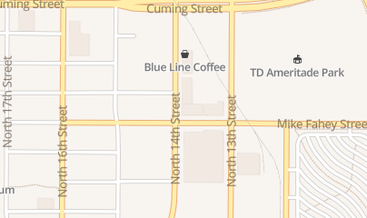 Directions for Zipline Brewing Company in Omaha, NE 721 N 14th St