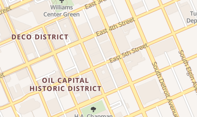 Directions for American Pest Control Exterminators in Tulsa, OK 427 S Boston Ave #7474