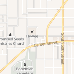 Directions for Hy-Vee in Omaha, NE 5150 Center St