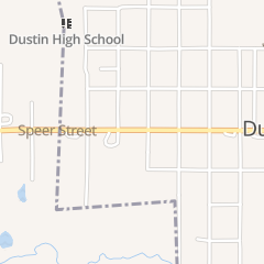 Directions for Pam's Place in Dustin, OK