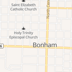 Directions for Los Amigos in Bonham, TX 505 N Main St