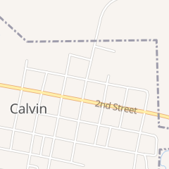 Directions for Calvin Quick Stop in Calvin, OK 105 Walnut St