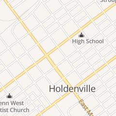 Directions for Pat's Cafe in Holdenville, OK 110 N Oak St