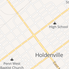 Directions for Bard Terry J Atty in Holdenville, OK 103 W Main St