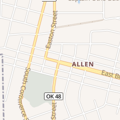 Directions for Allen Food Center in Allen, OK 206 E Broadway