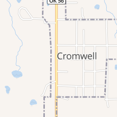 Directions for Eagles Nest in Cromwell, OK 100 n Shawnee Ave