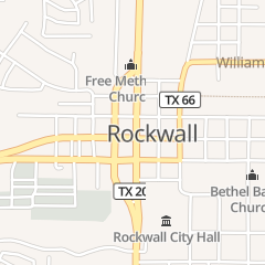 Directions for Blacketers Bookkeeping & Tax Service in Rockwall, TX 103 N Goliad St Ste 102
