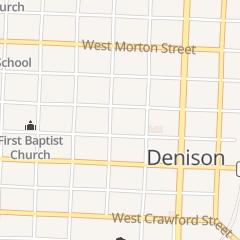 Directions for Herald Democrat in Denison, TX 331 W Woodard St