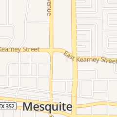 Directions for America's Credit Union in Mesquite, TX 116 E Kearney St