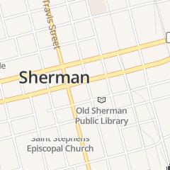 Directions for Jan's Beauty Salon in Sherman, TX 218 S Walnut St