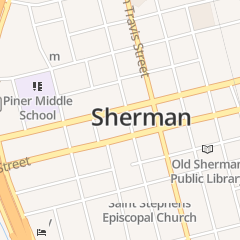 Directions for Jim Dunn Atty in Sherman, TX 108 S Crockett St