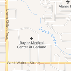 Directions for Baylor Scott & White Medical Center - Garland in Garland, TX 2300 Marie Curie Dr