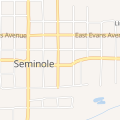 Directions for Lunch & Such in Seminole, OK 234 N Main St