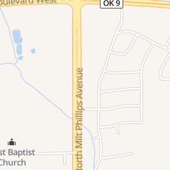 Directions for China City in Seminole, OK 2220 N Milt Phillips Ave
