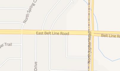 Directions for Jupiter Bingo in Richardson, TX 2120 E Belt Line Rd
